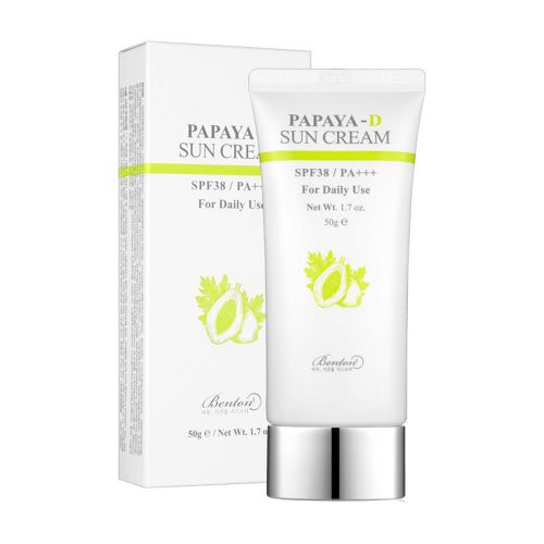 Benton - Papaya-D Sun Cream SPF38 PA+++