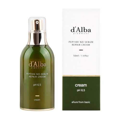 d'Alba - Peptide No-Sebum Repair Cream