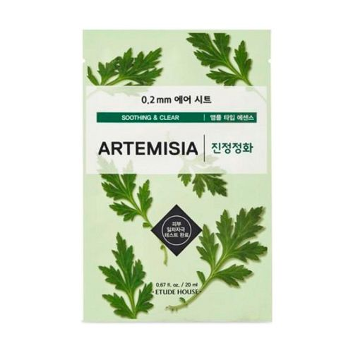 Etude House - 0.2 Therapy Air Mask - Artemisia
