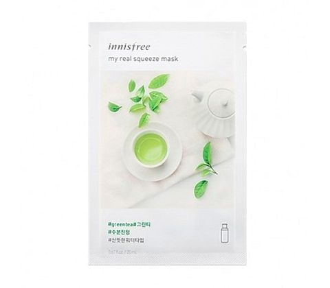 Innisfree - My Real Squeeze Mask - Green Tea