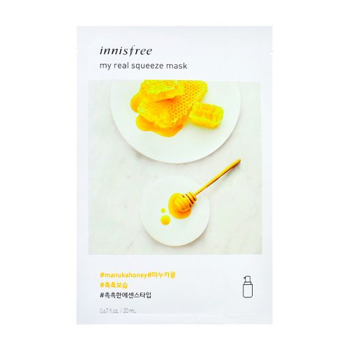 Innisfree - My Real Squeeze Mask - Manuka Honey