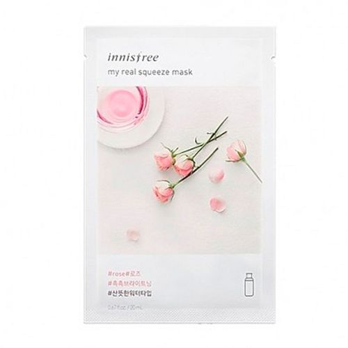 Innisfree - My Real Squeeze Mask - Rose