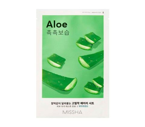 Missha - Airy Fit Sheet Mask - Aloe