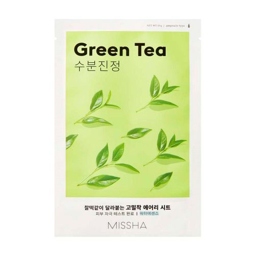 Missha - Airy Fit Sheet Mask - Green Tea