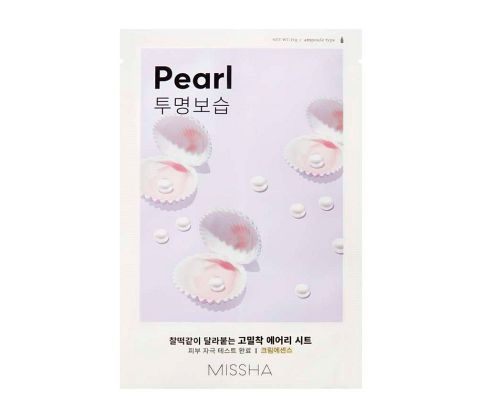 Missha - Airy Fit Sheet Mask - Pearl