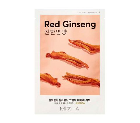 Missha - Airy Fit Sheet Mask - Red Ginseng