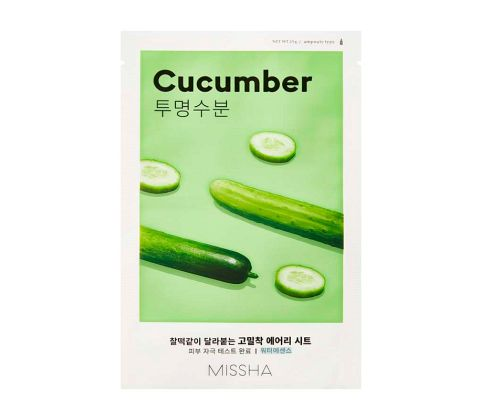 Missha - Airy Fit Sheet Mask - Cucumber