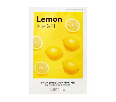 Missha - Airy Fit Sheet Mask - Lemon