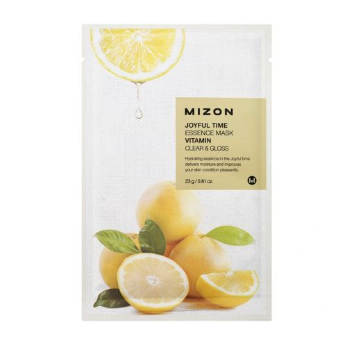Mizon - Joyful Time Essence Mask - Vitamin