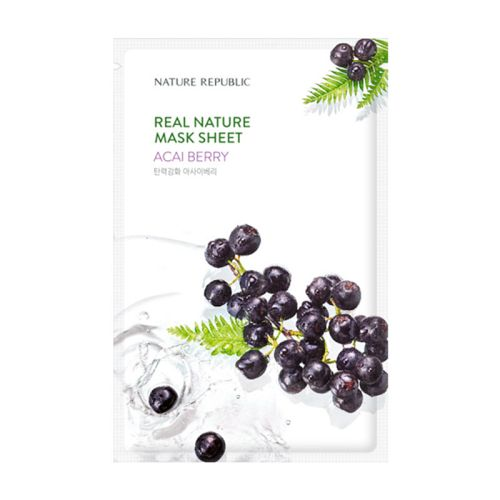 Nature Republic - Real Nature Acaiberry Mask Sheet