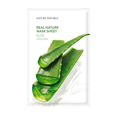 Nature Republic - Real Nature Aloe Mask Sheet