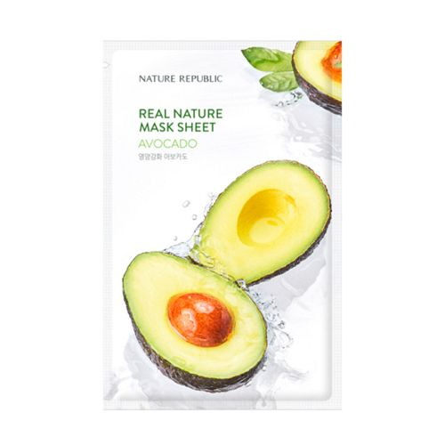 Nature Republic - Real Nature Avocado Mask Sheet