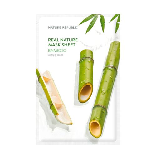 Nature Republic - Real Nature Bamboo Mask Sheet