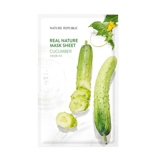 Nature Republic - Real Nature Cucumber Mask Sheet