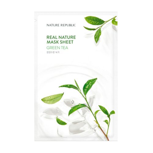 Nature Republic - Real Nature Green Tea Mask Sheet