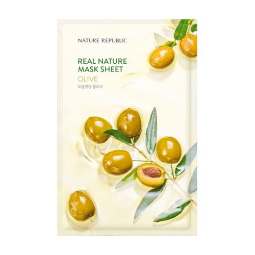 Nature Republic - Real Nature Olive Mask Sheet