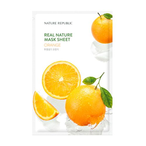 Nature Republic - Real Nature Orange Mask Sheet
