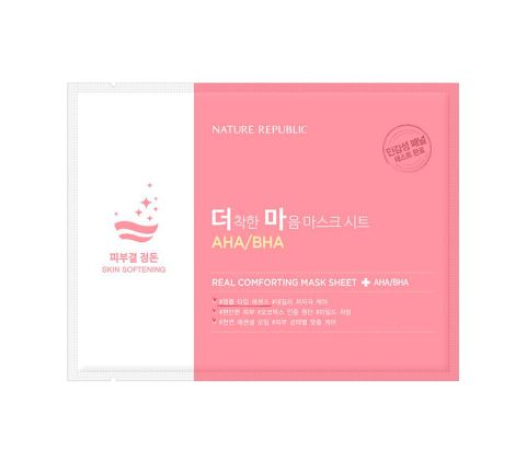 Nature Republic - Real Comforting Mask Sheet - AHA/BHA