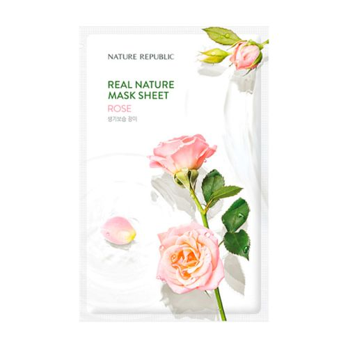 Nature Republic - Real Nature Rose Mask Sheet