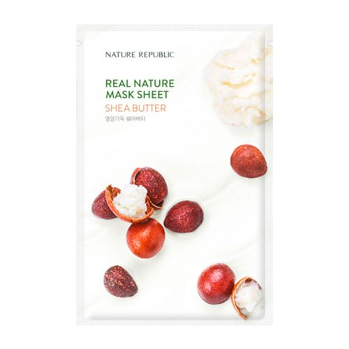 Nature Republic - Real Nature Shea Butter Mask Sheet