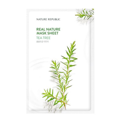 Nature Republic - Real Nature Tea Tree Mask Sheet