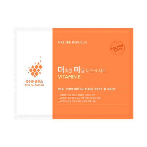 Nature Republic - Real Comforting Mask Sheet - Vitamin E