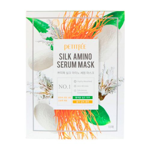 Petitfee - Silk Amino Serum Mask