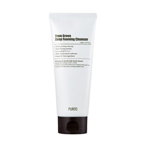 Purito - From Green Deep Foaming Cleanser