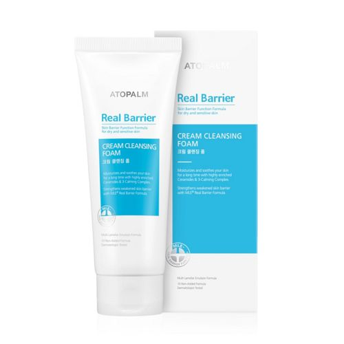 Real Barrier - Cream Cleansing Foam