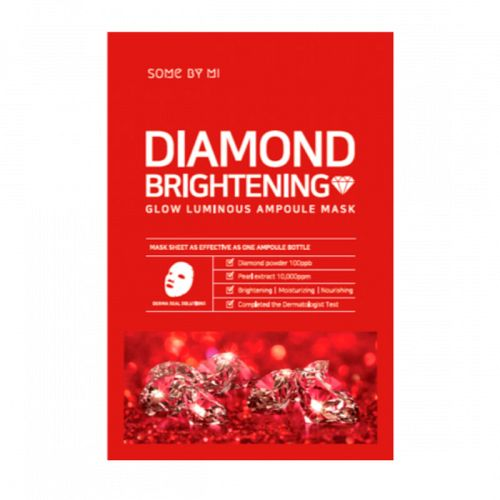 Some By Mi - Red Diamond Glow Luminous Ampoule Mask