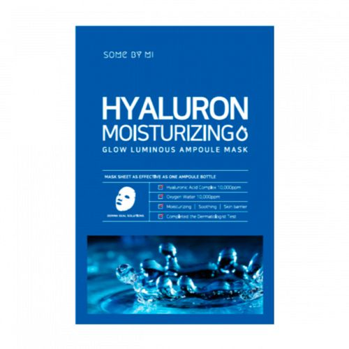 Some By Mi - Hyaluron Moisturizing Glow Luminous Ampoule Mask